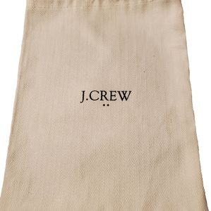 J Crew Large Jewelry Pouch/Dustbag NWOT